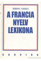 A francia nyelv lexikona - Régikönyvek