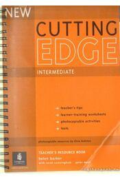 Cutting Edge Intermediate Teacher's Resource Book - Régikönyvek