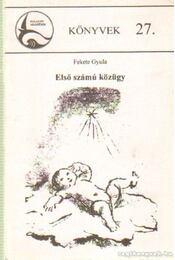 Első számú közügy - Fekete Gyula - Régikönyvek