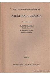Atlétikai ugrások - Régikönyvek