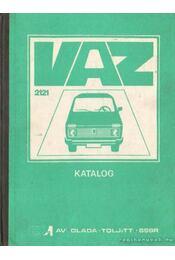 VAZ-2121 típusú gépkocsi - A pótalkatrészek katalógusa - Régikönyvek