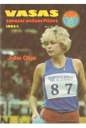 Vasas tavaszi műsorfüzet 1984/I. - Ferenczy István - Régikönyvek