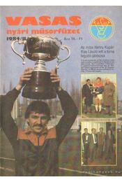 Vasas nyári műsorfüzet 1984/II. - Régikönyvek
