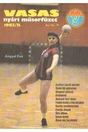 Vasas nyári műsorfüzet 1983/II. - Régikönyvek