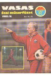 Vasas őszi műsorfüzet 1982/II. - Régikönyvek