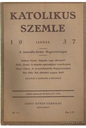 Katolikus szemle 1937. (teljes) - Mihelics Vid - Régikönyvek