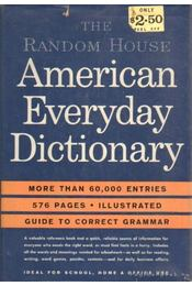 American Everyday Dictionary - Régikönyvek
