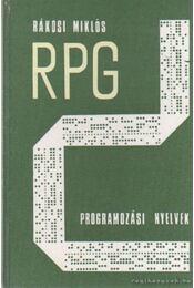 Az RPG programozási nyelvek - Rákosi Miklós - Régikönyvek