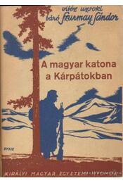 A magyar katona a Kárpátokban - Régikönyvek