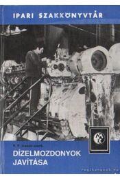 Dízelmozdonyok javítása - Régikönyvek