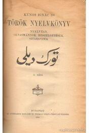 Török nyelvkönyv - Régikönyvek