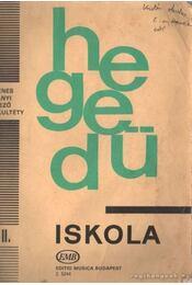 Hegedű iskola II. - Régikönyvek