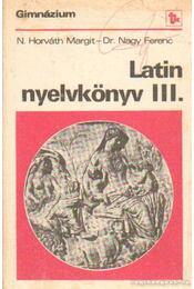 Latin nyelvkönyv III. - Régikönyvek