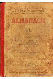 Almanach 1915 - Régikönyvek