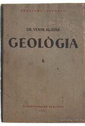 Geológia I-II. - Régikönyvek