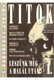 Titok 1990. I. évfolyam 1. szám - Régikönyvek