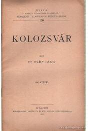 Kolozsvár - Régikönyvek
