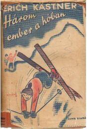 Három ember a hóban - Régikönyvek