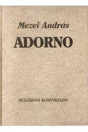 Adorno - Régikönyvek