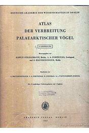 Atlas der Verbreitung Palaearktischer Vögel 2. (Atlasz a kőkorszaki madarak elterjedéséről 2.) - Régikönyvek