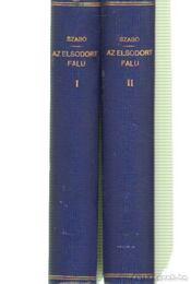 Az elsodort falu I-III. kötet - Régikönyvek