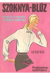Szoknya-blúz 1979-80 - Régikönyvek
