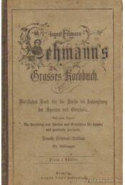 Lehmann's Grolzes Kochbuch - Régikönyvek