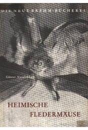 Heimische Fledermause - Régikönyvek