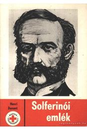 Solferinói emlék - Régikönyvek