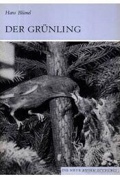 Der Grünling - Régikönyvek