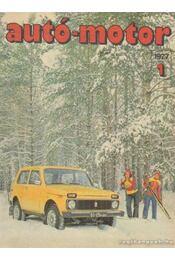 Autó-motor 1977. január-december (hiányos) - Régikönyvek