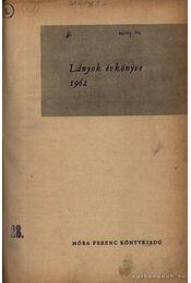 Lányok évkönyve 1962 - Régikönyvek