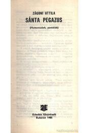 Sánta Pegazus - Régikönyvek