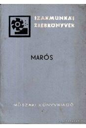 Marós - Régikönyvek