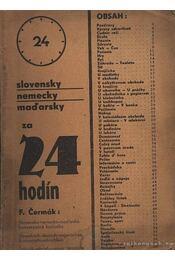 Slovensky nemecky madarsky za 24 hodín - Régikönyvek