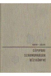 Gépipari szakmunkások kézikönyve - Régikönyvek