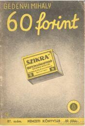 60 forint - Régikönyvek