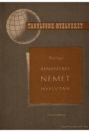 Rendszeres német nyelvtan - Régikönyvek