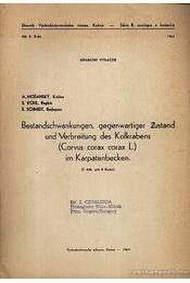 Bestandschwankungen, gegenwartiger Zustand und Verbreitung des Kolkrabens (Corvus corax corax L.) im Karpatenbecken - Régikönyvek