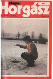 Magyar Horgász 1980. XXXIV. évfolyam (teljes) - Régikönyvek
