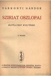 Sziriat oszlopai - Régikönyvek