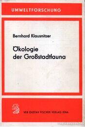 Ökologie der Großstadtfauna - Régikönyvek