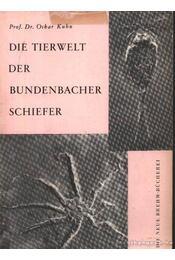 Die Tierwelt der Bundenbacher Schiefer - Régikönyvek