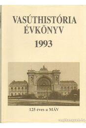 Vasúthistória évkönyv 1993 - Régikönyvek