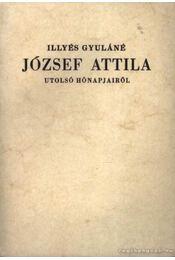 József Attila utolsó hónapjairól - Régikönyvek