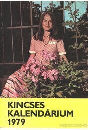 Kincses kalendárium 1979 - Régikönyvek