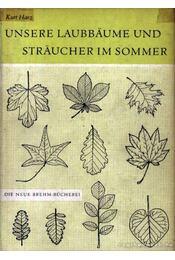 Unsere Laubbaume und Straucher im Sommer - Régikönyvek