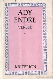 Versek I. kötet (Ady Endre) - Régikönyvek