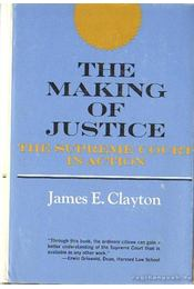 The Making of Justice / Az igazságosság értelmezése - Régikönyvek
