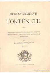 Békésvármegye története I-III. kötet - Régikönyvek